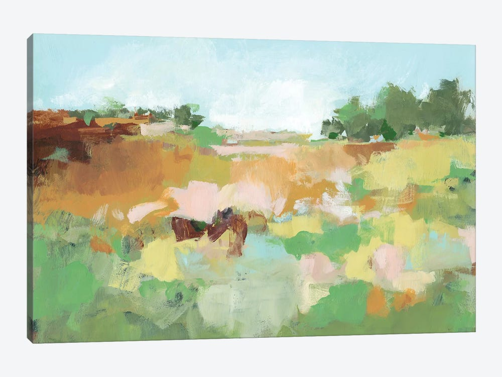 Summer Walk II by Christina Long 1-piece Canvas Art Print