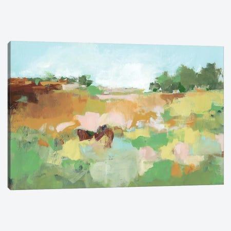 Summer Walk II Canvas Print #CLO29} by Christina Long Canvas Art