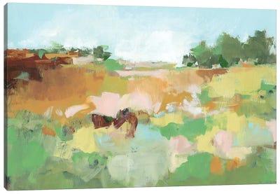 Summer Walk II Canvas Art Print