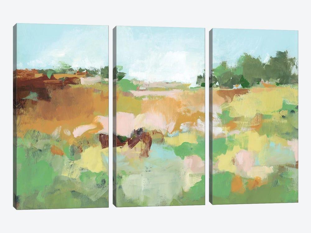 Summer Walk II by Christina Long 3-piece Canvas Art Print