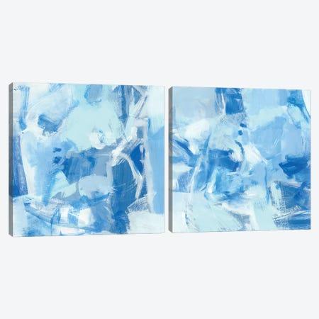 Blue Light Diptych Canvas Print Set #CLO2HSET002} by Christina Long Canvas Art Print