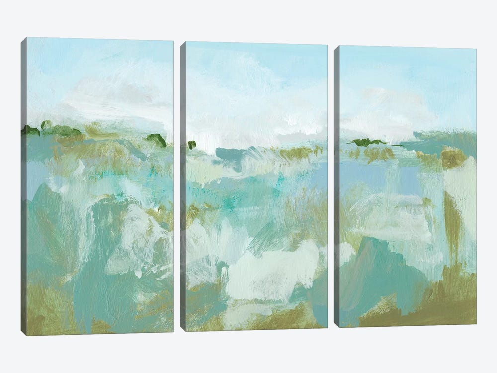 West Wind II by Christina Long 3-piece Canvas Art