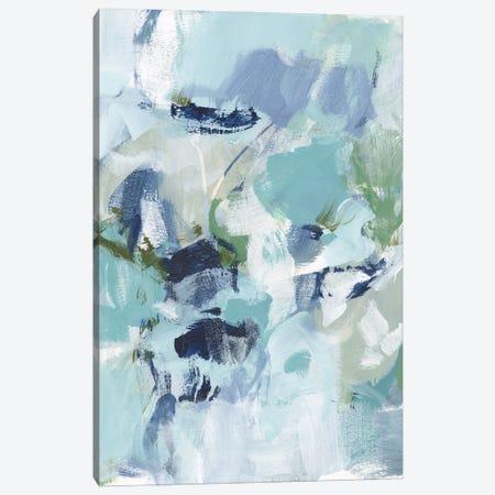 Azure Abstract I Canvas Print #CLO54} by Christina Long Canvas Art