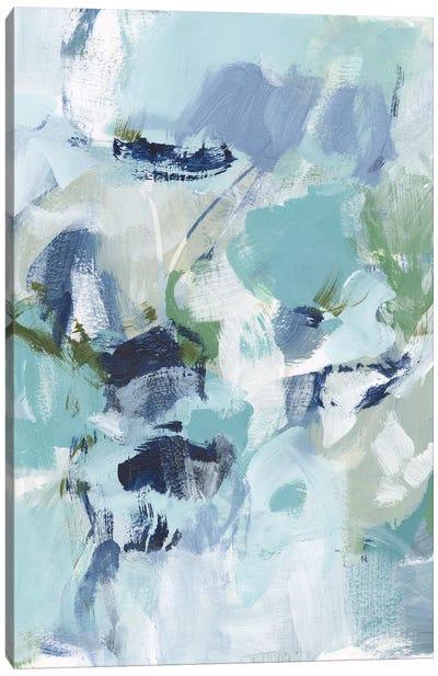 Azure Abstract I Canvas Art Print
