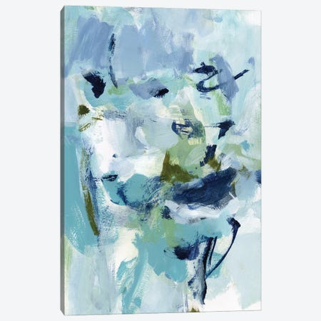 Azure Abstract II Canvas Print #CLO55} by Christina Long Canvas Wall Art