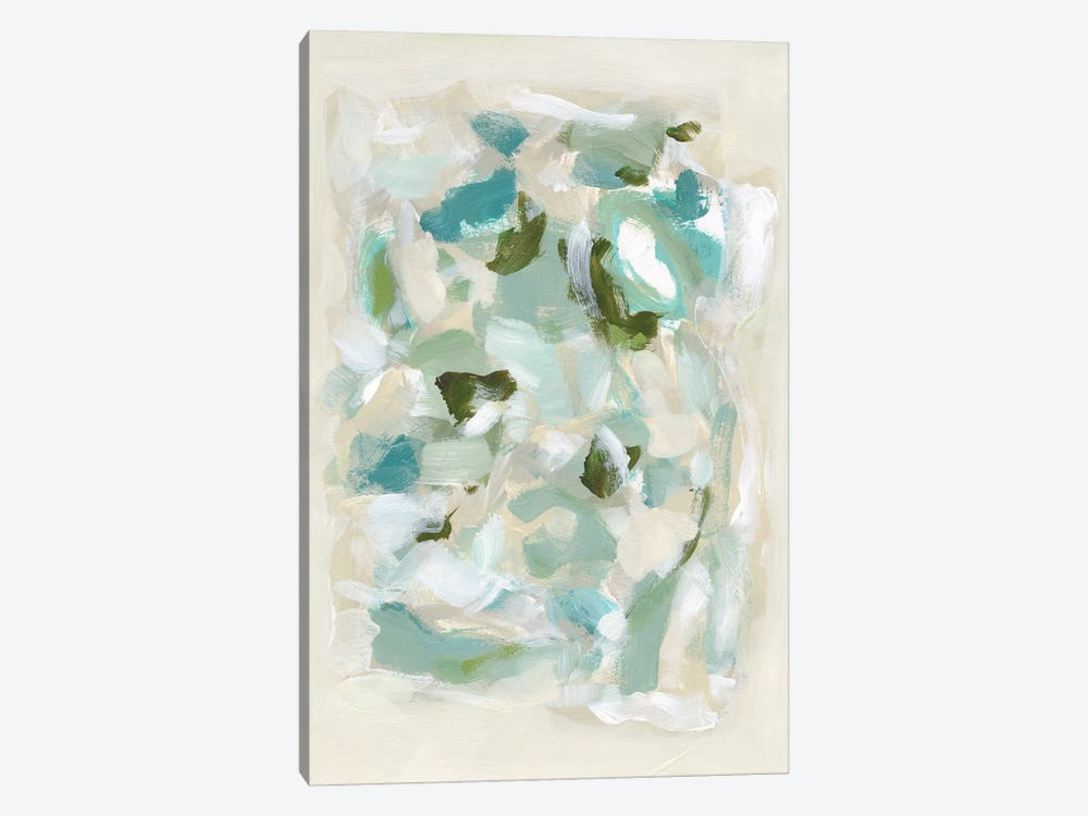 Tinted Abstract V by Christina Long 1-piece Canvas Wall Art