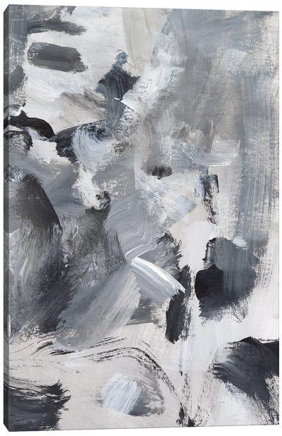 Black & White Mix II Canvas Art Print