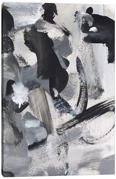 Black & White Mix IV Canvas Art Print