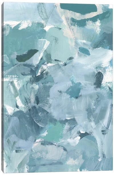 Soft Teal I Canvas Art Print