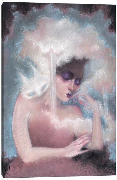 Catnap Haunting Canvas Art Print