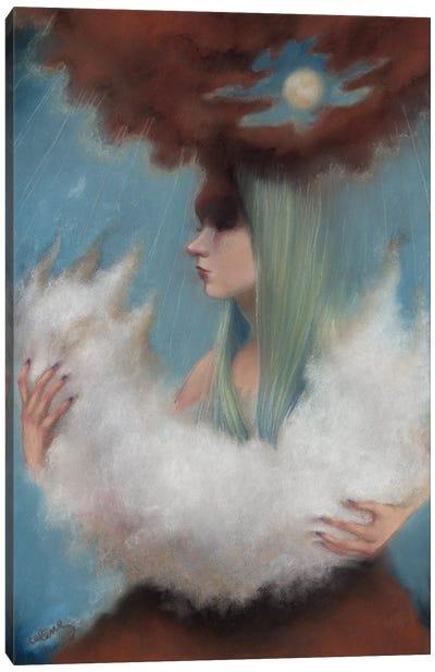 Endless Rain Canvas Art Print