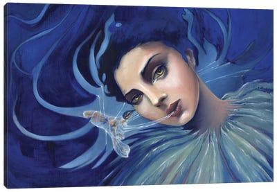Entangled Secrets Canvas Art Print