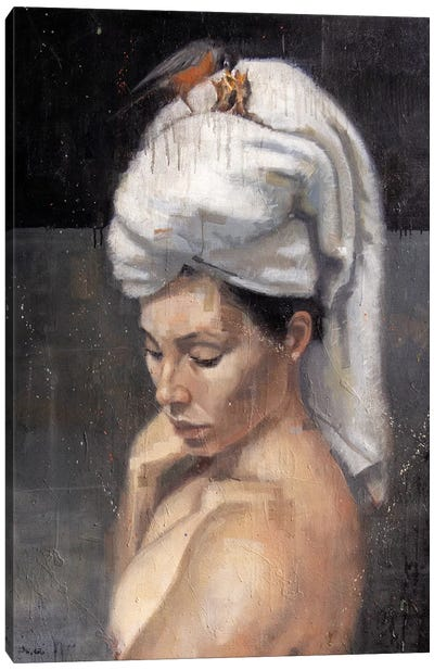 La Espera Canvas Art Print