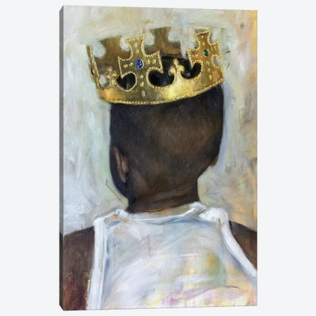 Raised A King Canvas Print #CLS8} by Carlos Antonio Rancaño Canvas Art Print