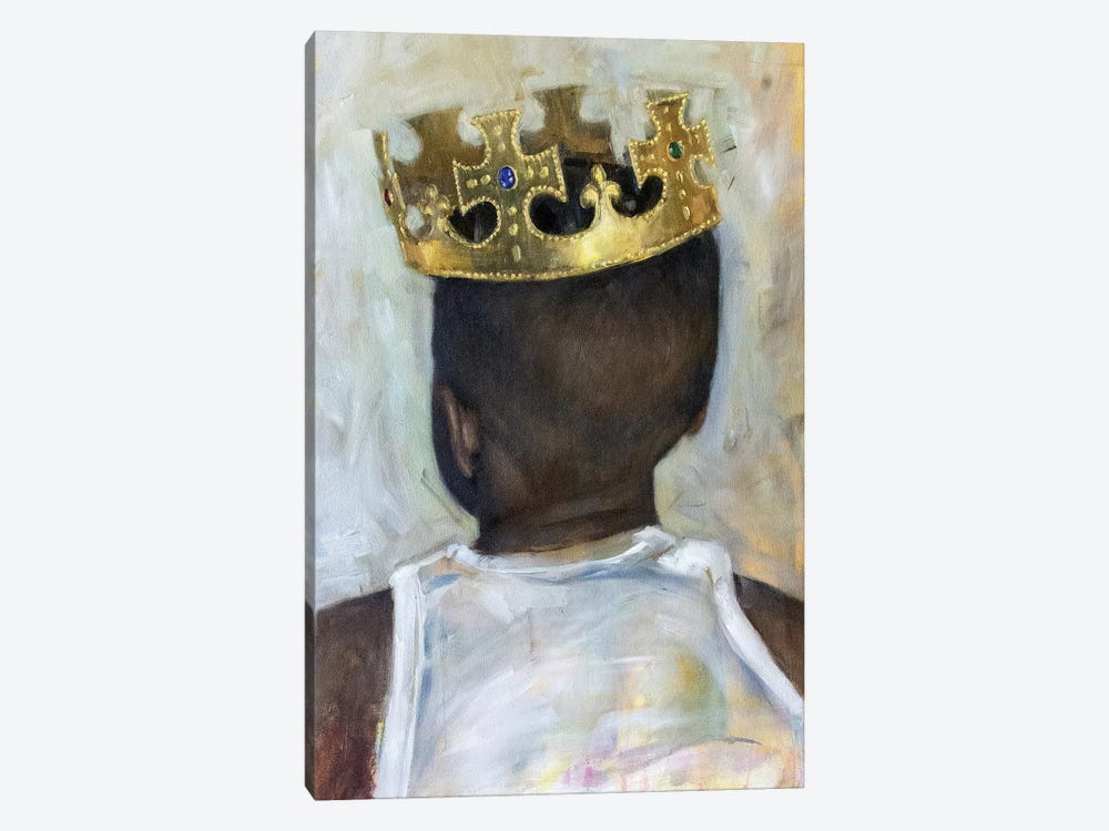 Raised A King by Carlos Antonio Rancaño 1-piece Canvas Wall Art