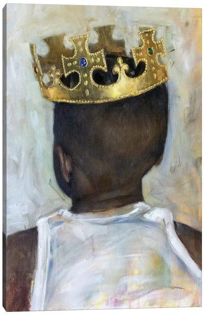 Raised A King Canvas Art Print
