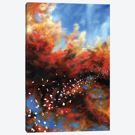Explosion In The Sky Canvas Print #CLT11} by Christopher Lyter Canvas Art