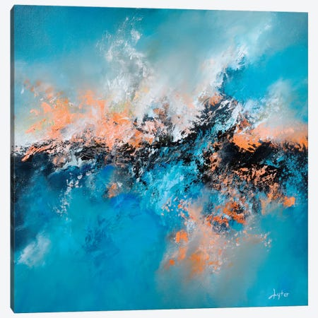 Icy Hot Canvas Print #CLT14} by Christopher Lyter Canvas Art Print