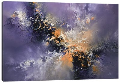 Lavender Storm Canvas Art Print