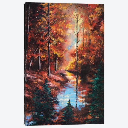 Little Buffalo Creek Canvas Print #CLT17} by Christopher Lyter Canvas Print