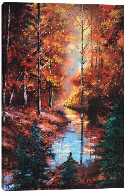 Little Buffalo Creek Canvas Art Print