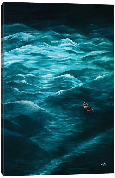 Adrift Canvas Art Print