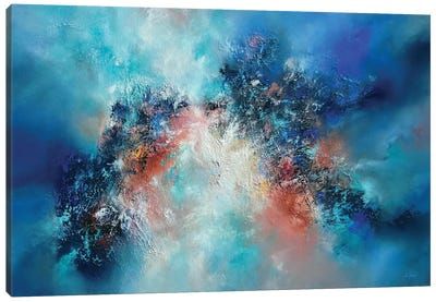 Out Of The Blue Canvas Art Print