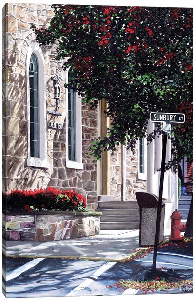 Sunbury Street Canvas Art Print