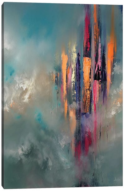 Tall Towers Canvas Art Print