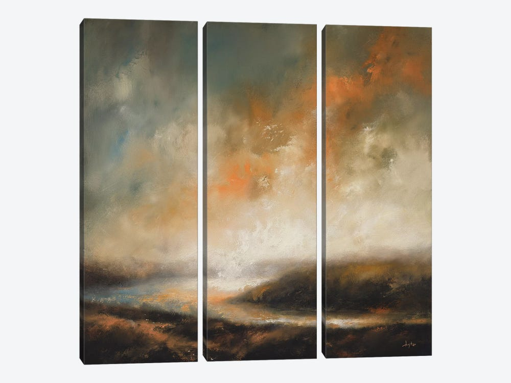 The Last Of What Has Passed by Christopher Lyter 3-piece Canvas Art Print
