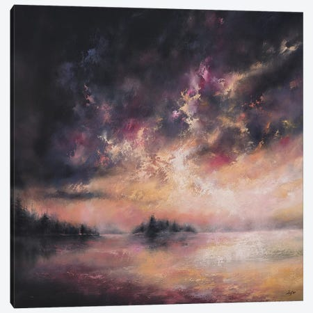As The Evening Twilight Fades Away 3-Piece Canvas #CLT3} by Christopher Lyter Canvas Artwork