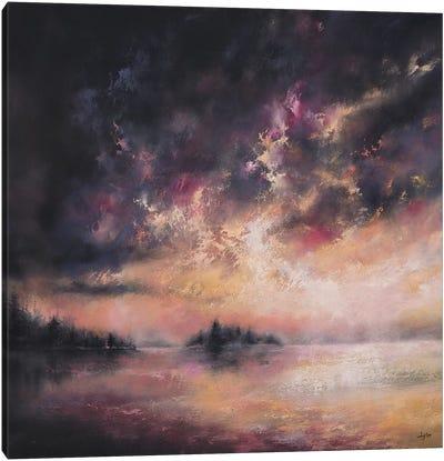 As The Evening Twilight Fades Away Canvas Art Print