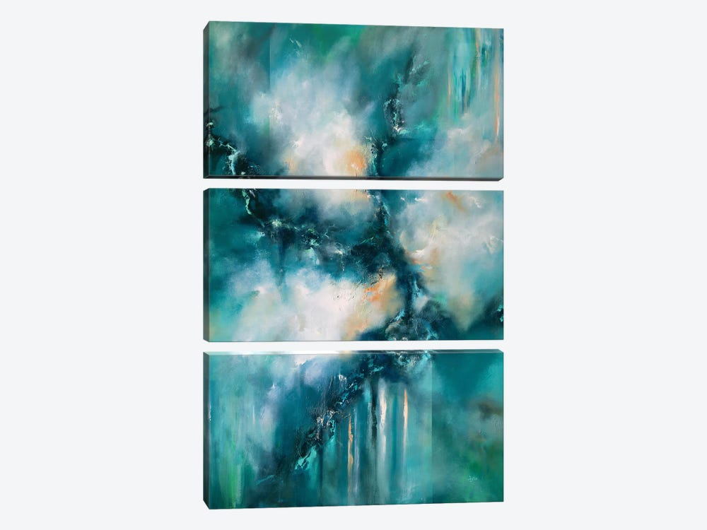 On An Infinite Ocean by Christopher Lyter 3-piece Canvas Print