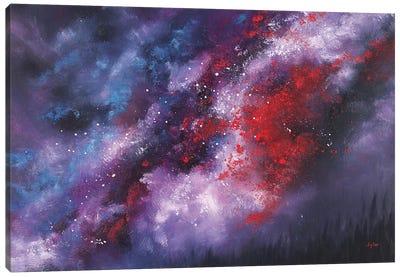 Erupt Canvas Art Print