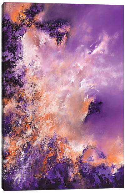Violet Haze Canvas Art Print