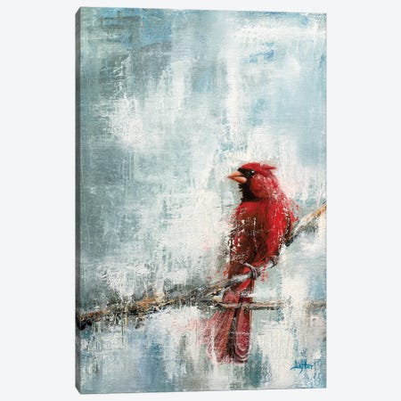 Wintry Red Canvas Print #CLT46} by Christopher Lyter Canvas Art