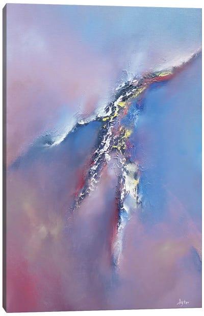 Cracks In The Sky Canvas Art Print
