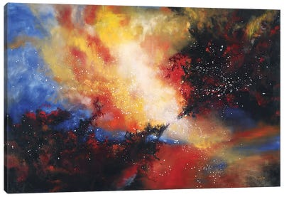 Confluence Canvas Art Print