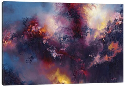 Tumult Canvas Art Print