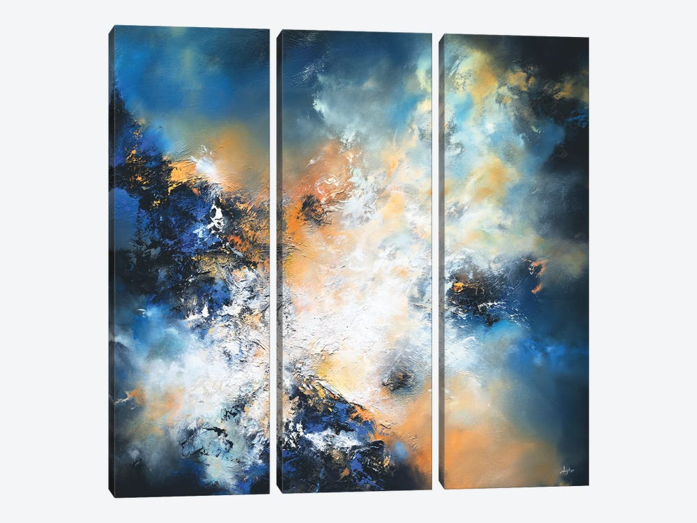 No Calamity Need Be Feared by Christopher Lyter 3-piece Canvas Wall Art