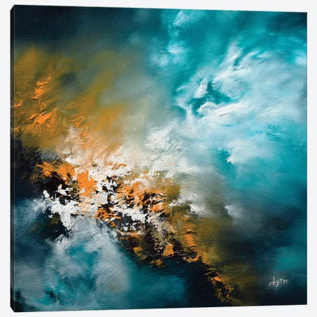 Fire And Water Canvas Print #CLT67} by Christopher Lyter Canvas Artwork