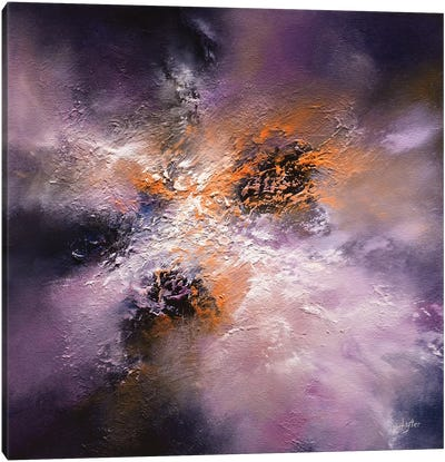 Lightning At Midnight Canvas Art Print