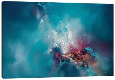 Celestial Fire Canvas Art Print
