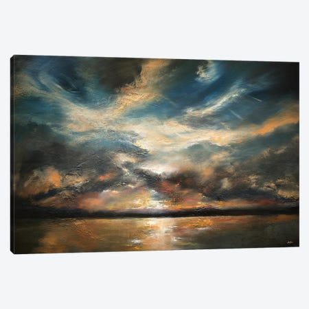 All That's Beautiful Drifts Away Canvas Print #CLT72} by Christopher Lyter Canvas Artwork