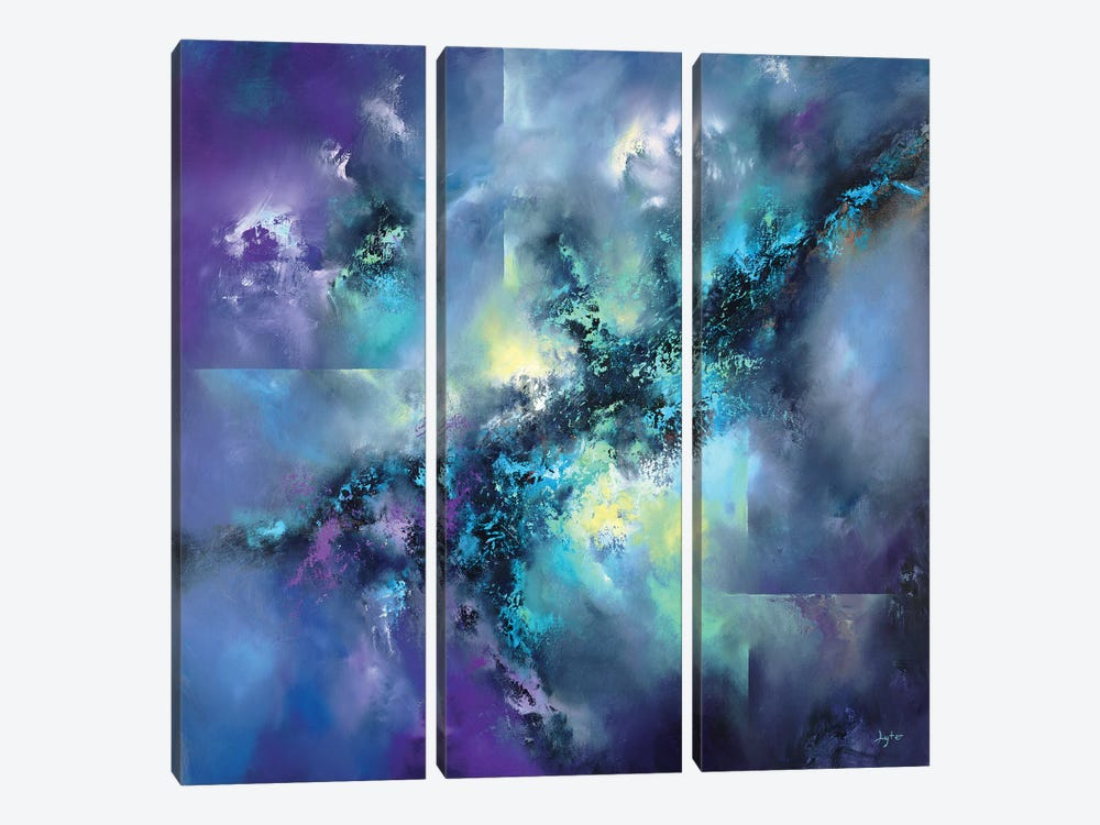 Event Horizon by Christopher Lyter 3-piece Canvas Artwork