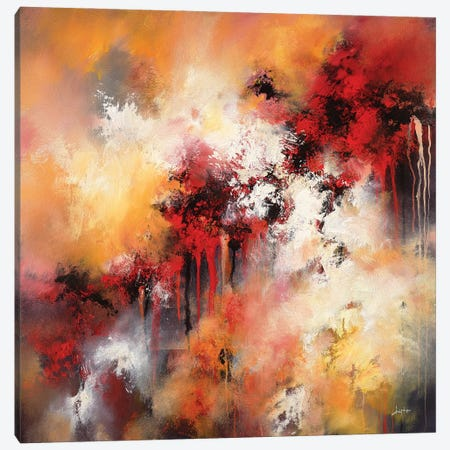 With Flames Of Many Colors Canvas Print #CLT75} by Christopher Lyter Art Print
