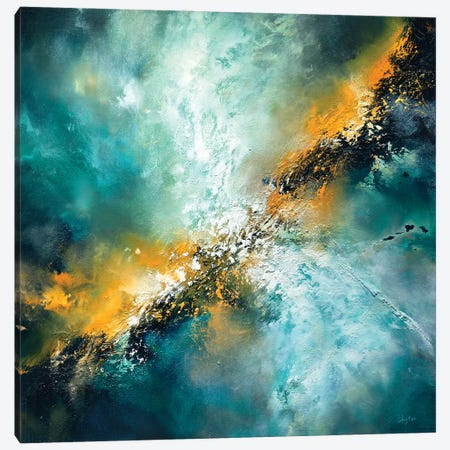 The Universe Surrenders Canvas Print #CLT78} by Christopher Lyter Canvas Art