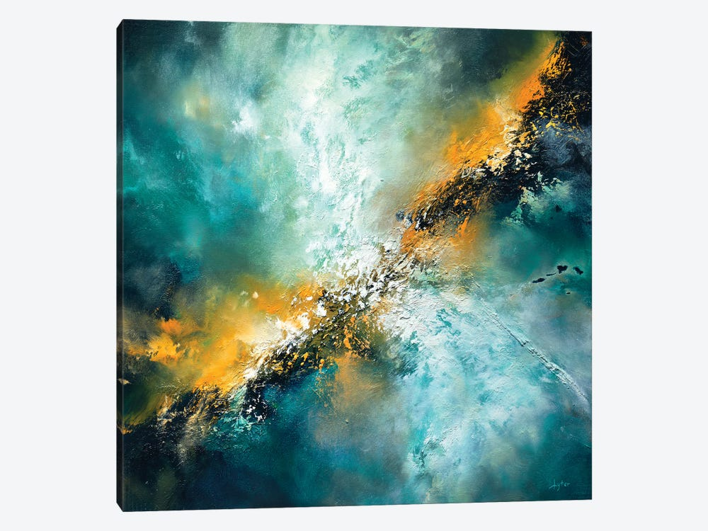 The Universe Surrenders by Christopher Lyter 1-piece Canvas Print