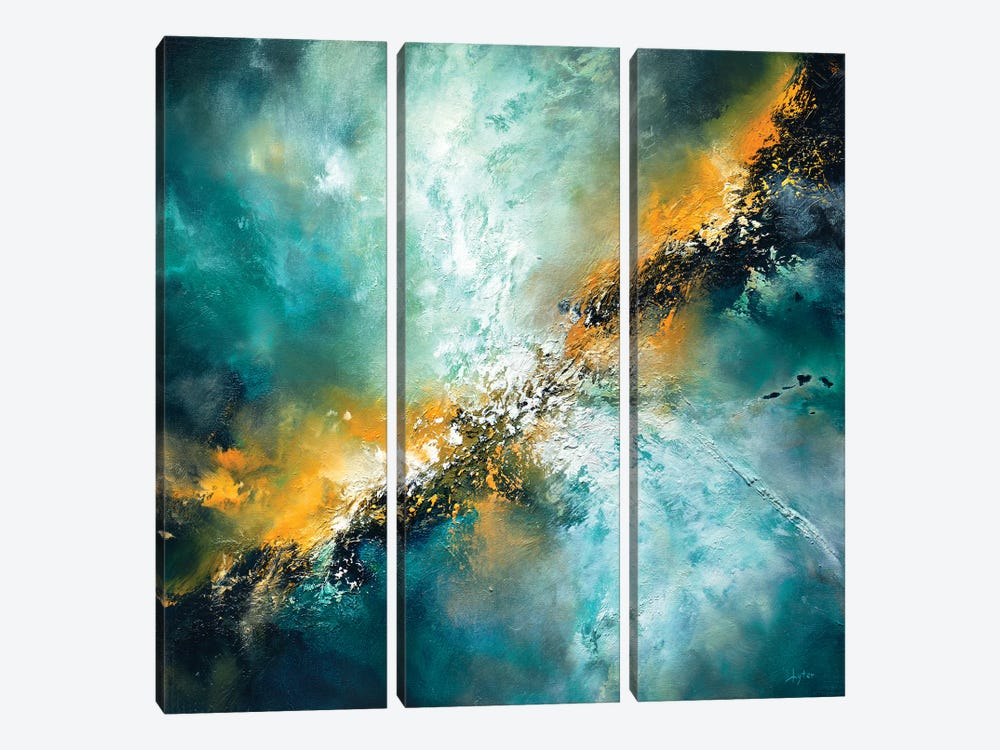The Universe Surrenders by Christopher Lyter 3-piece Art Print
