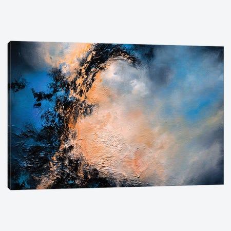 Blue Oblivion Canvas Print #CLT7} by Christopher Lyter Canvas Art Print